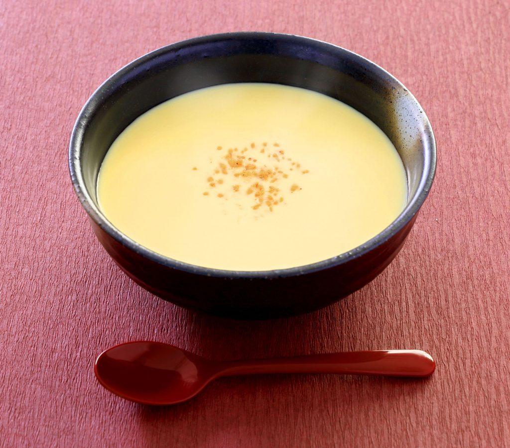 すりごま入りコーンスープ
