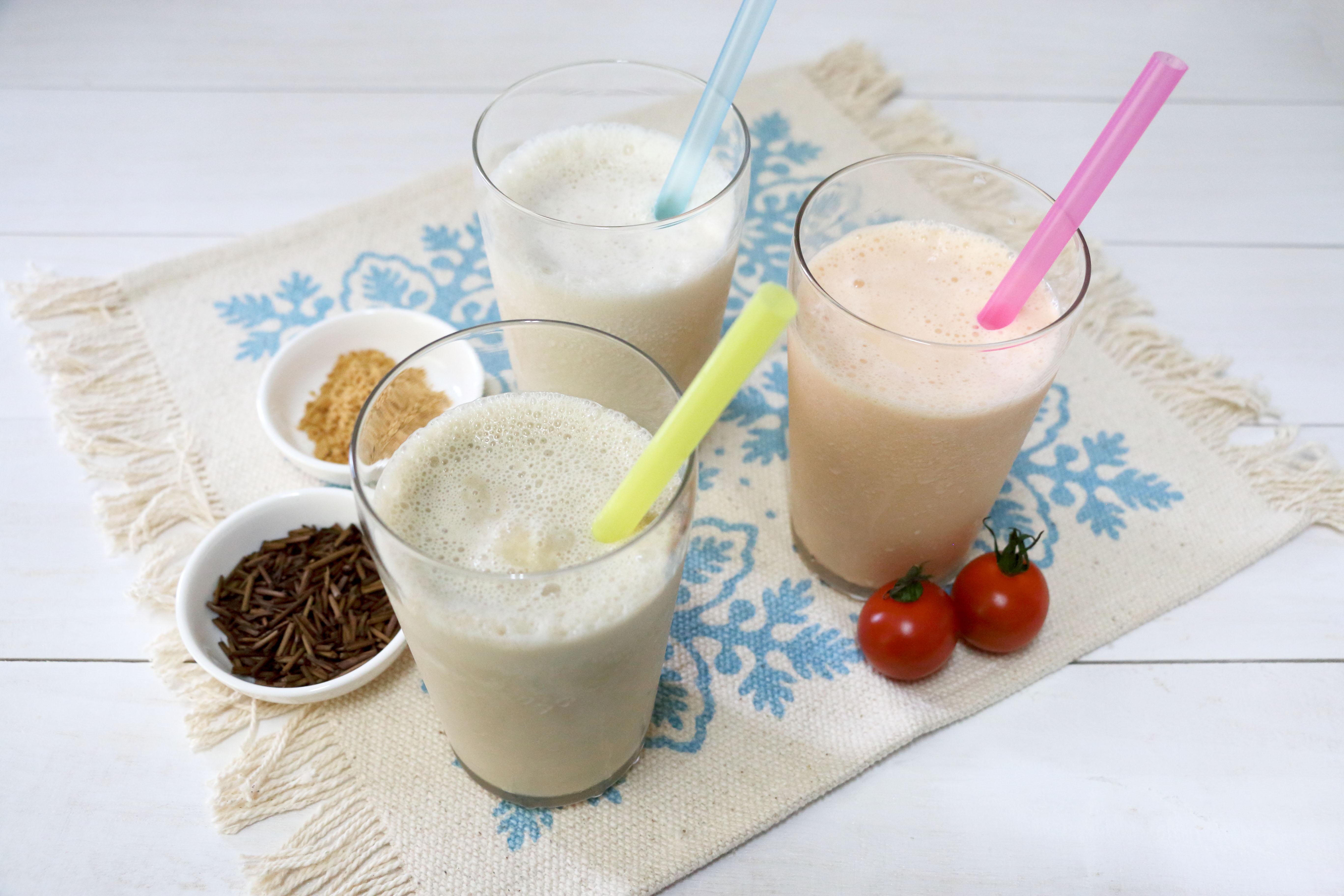 豆乳飲料×バニラアイス シェイク