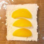 フルーツサンド 黄桃